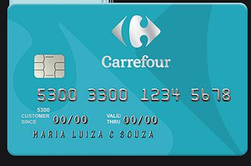 Cartão Carrefour modelo