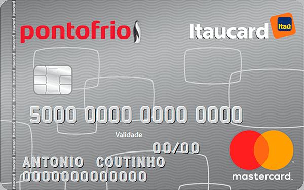 CARTÃO DE CRÉDITO PONTO FRIO ITAUCARD