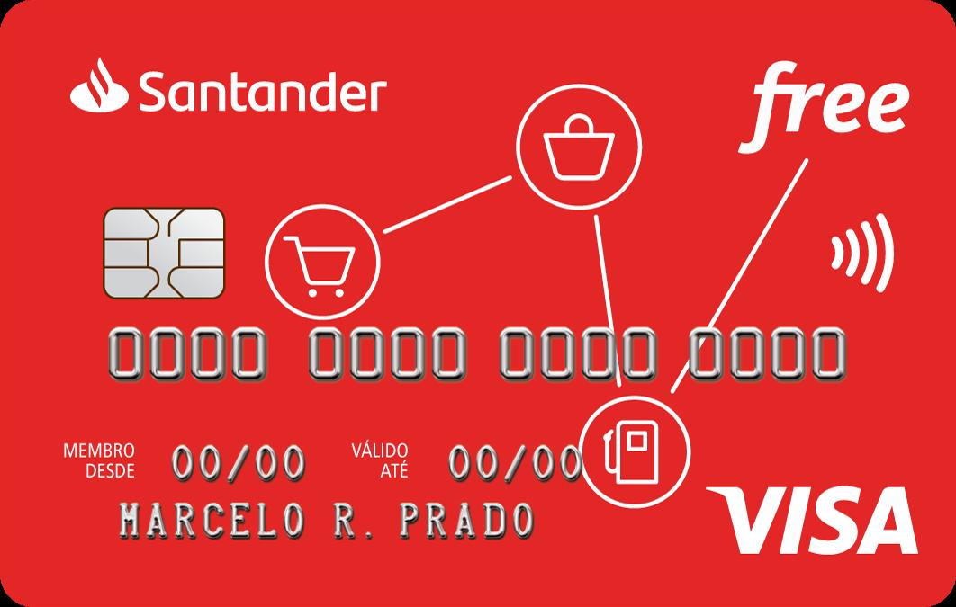 cartao de crédito santander free