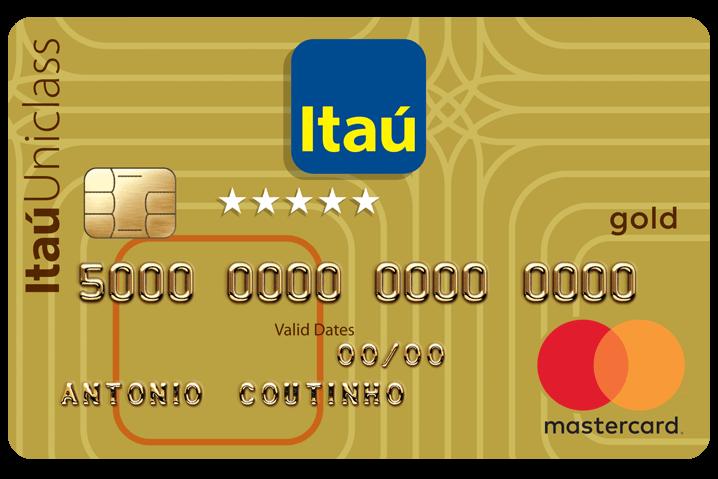 itaucard gold cartao de credito